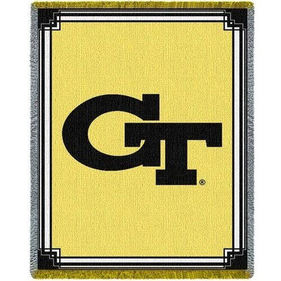 Georgia Tech Yellow Jackets Logo Stadium Blanket