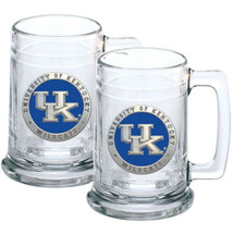 Kentucky Wildcats Beer Mug Set of Two