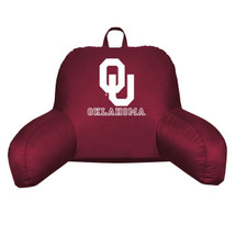 Oklahoma Sooners Bedrest Pillow | Sports Coverage | 04JRBDR4OKU1912