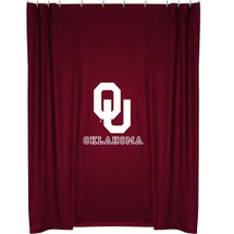 Oklahoma Sooners Shower Curtain | Sports Coverage | 04JRSHC4OKU7272