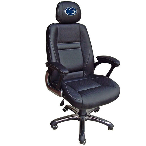 Penn state nittany lions leather office chair