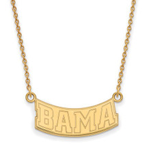 Alabama Crimson Tide 14K Gold Bama Necklace