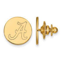 Alabama Crimson Tide A 14K Gold Lapel Pin