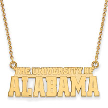 Alabama Crimson Tide 14K Gold Necklace