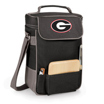 Georgia Bulldogs Duet Wine and Cheese Picnic Tote | Picnic Time | 623-04-175-182-0-1
