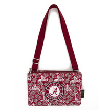 Alabama Crimson Tide Quilted Cotton Crossbody Purse | Eagles Wings | 10100