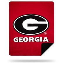 Georgia Bulldogs Luxurious Stadium Blanket   Elite Team   087918GA