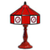 "Alabama Crimson 21"" Glass Table Lamp | IPI359-3001"