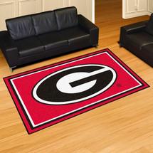 Georgia Bulldogs Area Rug 5' x 8'