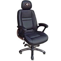 Georgia Bulldogs Leather Office Chair | Wild Sports | 901C-GA