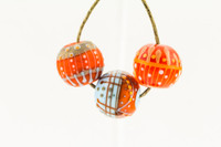 Magdalena - Red/Blue/Orange Bead Set
