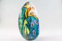 Chris Steffens - Large Reef Paperweight #2