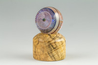Spalted Maple - Wooden Marble Stand #6