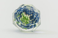 Miniature Faceted Blue Flower
