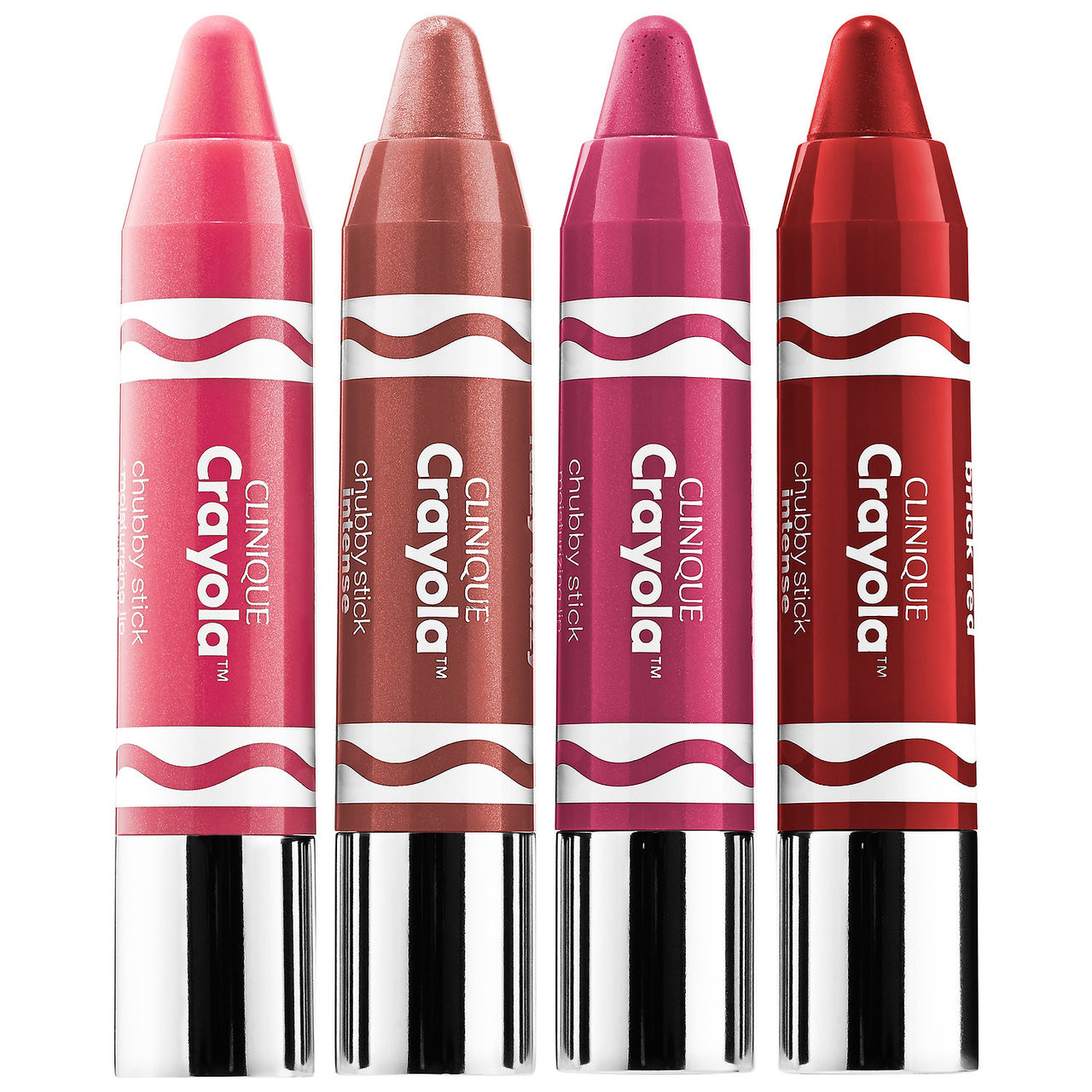 Clinique Crayola Crayon Box in 4 Brilliant Colors - Makeup Your Mind