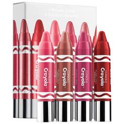 Clinique Crayola Crayon Box in 4 Brilliant Colors