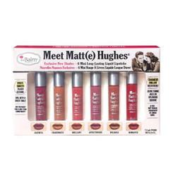 theBalm Meet Matt(e) Hughes Liquid Lipstick Mini Set Vol. 2
