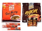 Q-Cafe Gourmet Instant 3-in-1 Coffee, available in Strong Taste and Good Morning varieties ##for 24 sachets##