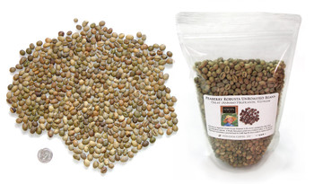 Vietnamese Dalat Highlands Peaberry Robusta, green unroasted,Peaberry Robusta is high in crema and low in acid  ##for 1lb (larger sizes available)##