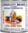 Traditional Longevity brand condensed milk is perfect for Vietnamese coffee ##for 14oz, Longevity brand##