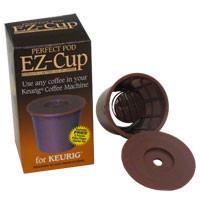 EZ-Cup reusable pods for Keurig