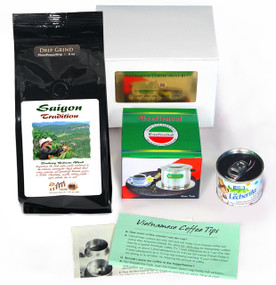 Saigon Coffee MiniKit ##save $2.45 and we will also donate $2 to Hurricane Relief##