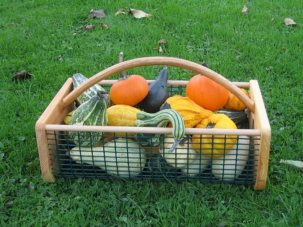 Harvest and wash your garden's veggies with a hod
