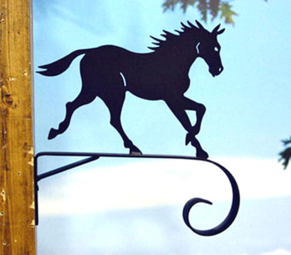 "Horse Scroll Bracket 11"""