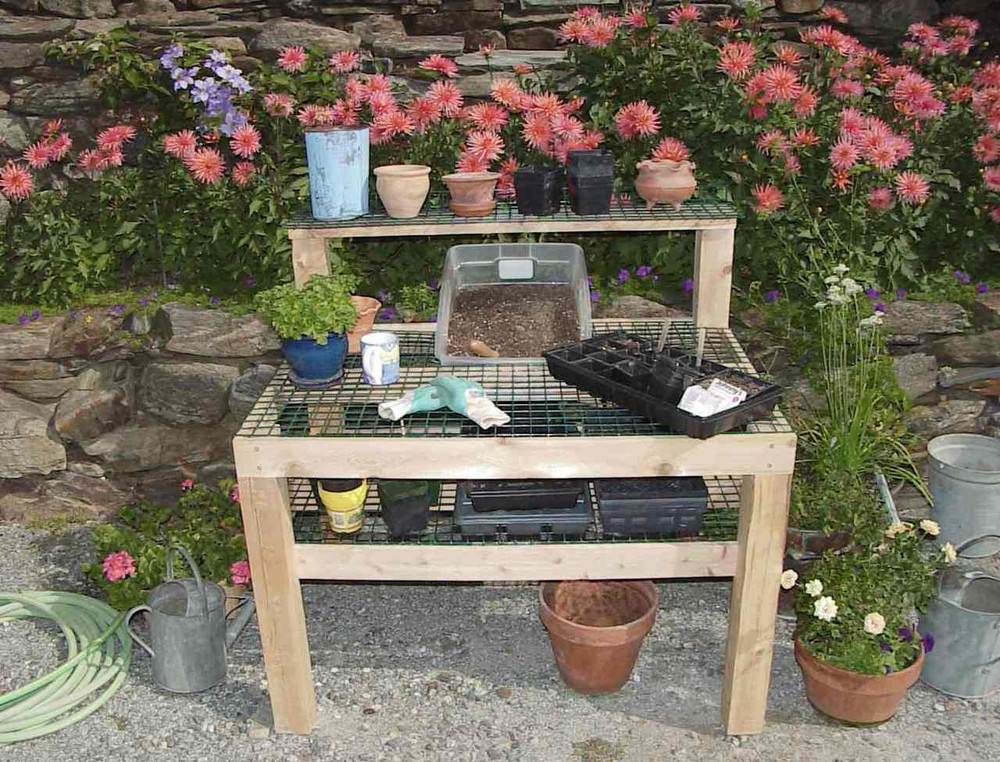 Able Table Potting Bench