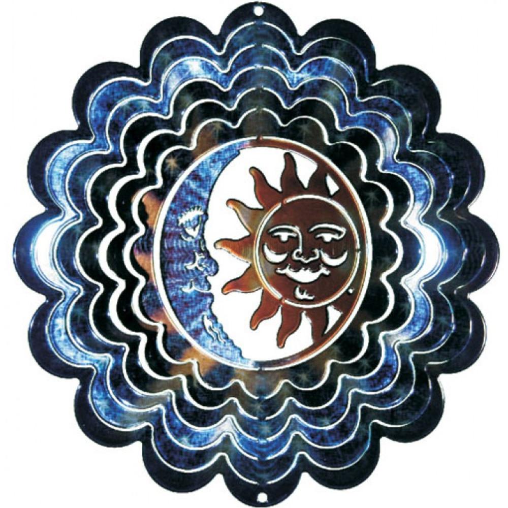 Kaleidoscope Wind Spinner Sun & Moon