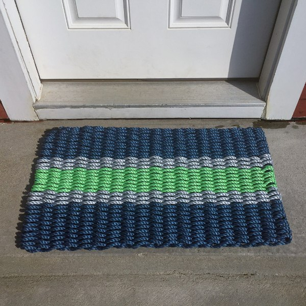 Lobster Rope Doormats by Custom Cordage