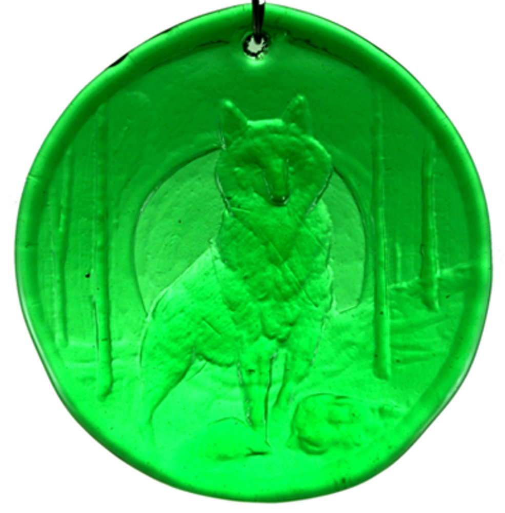 Wolf Large Suncatcher