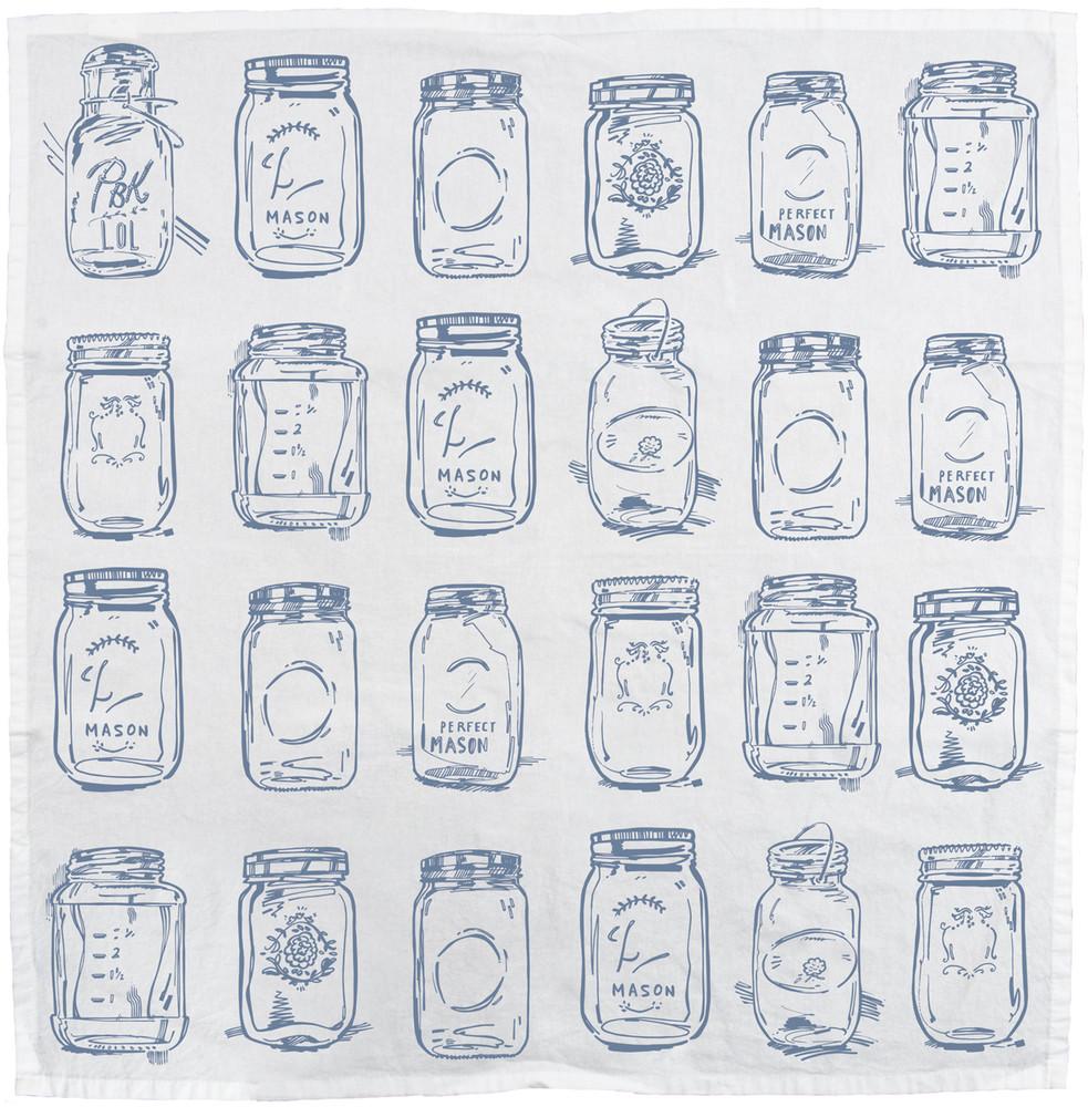 Mason Jars Dish Towel