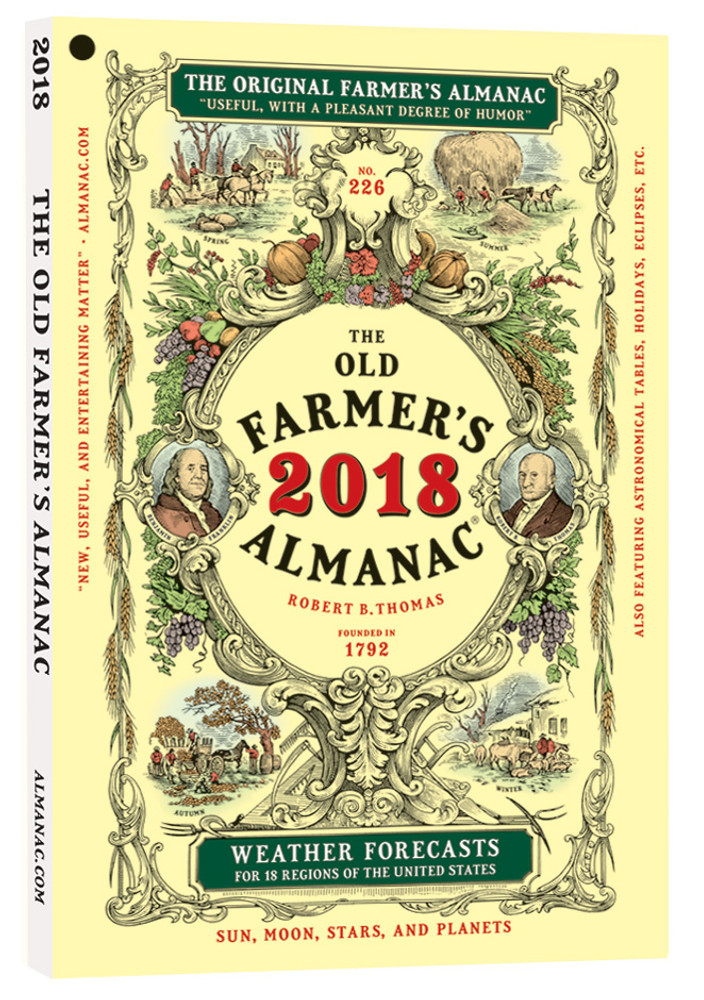 Old Farmer's Almanac 2018