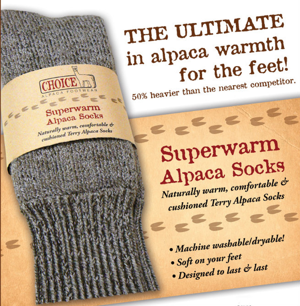Alpaca Fleece SuperWarm Extreme Socks