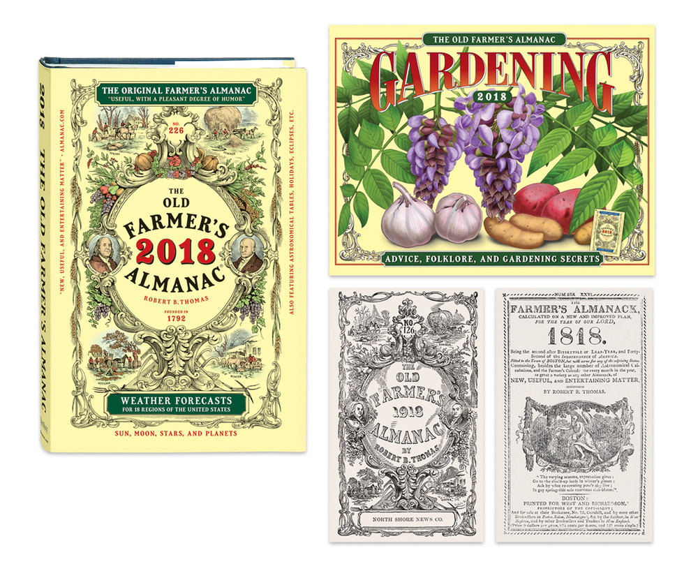 2018 Old Farmer's Almanac Special Offer