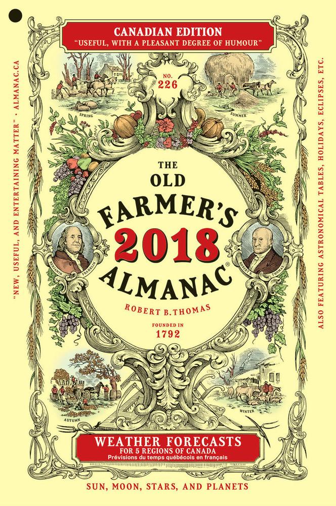 2018 Canadian Almanac