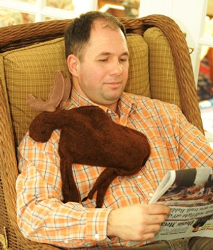 Maine Warmers Microwave Heating Pad - Moose