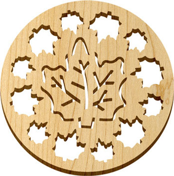 Solace Trivet Maple Leaves