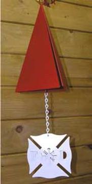 Firefighter Memorial Wind Bell