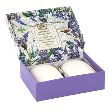 Lavender Rosemary Double Soap Gift Box