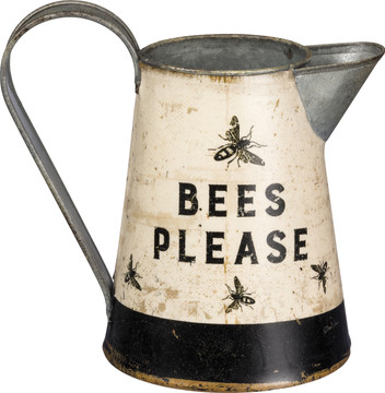 Bees Please Water Pitcher