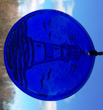 Lighthouse Large Suncatcher