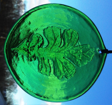 Oak Leaf Large Suncatcher