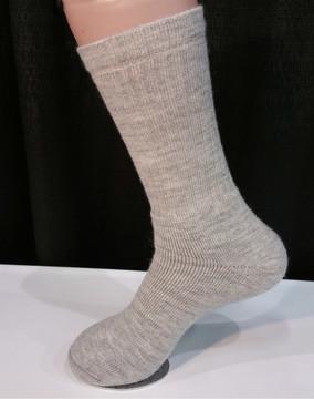 Alpaca Sock, Casual, Gray