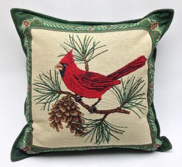 Cardinal Balsam Fir Pillow
