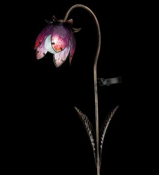 Solar Wildflower Stake - Pink