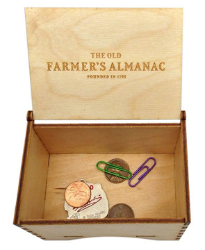 Old Farmer's Almanac Trinket Box
