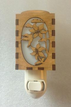 Village Craftsman Wooden Night Lights - Hummingbird