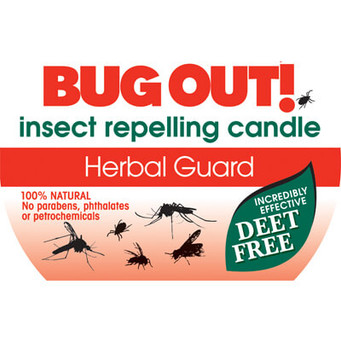 Herbal Guard Bug Out! 2-Wick Candle Tin